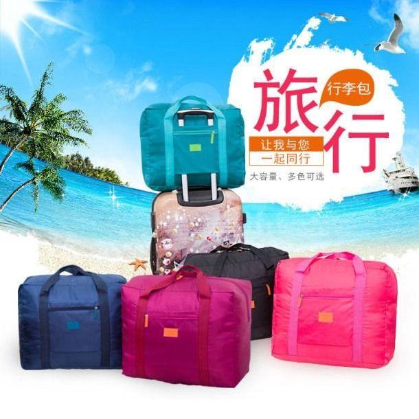 ❅กระเป๋าเดินทางแบบล้อลาก กระเป๋าเดินทางแบบถือ ความจุสูง กระเป๋าเก็บของทางไกล กระเป๋าเดินทางพับได้ ตั้งได้ กระเป๋าลาก