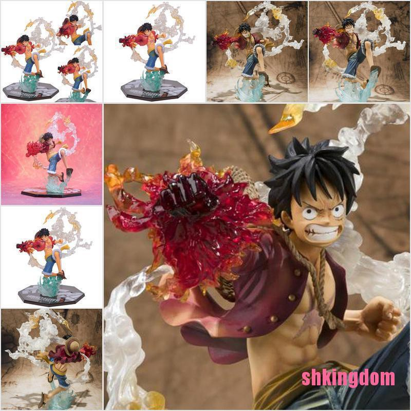 [SHKIb] Anime Monkey D. Luffy Garage Kit 20cm PVC Action Figure Statue Gift Toy Model DOM
