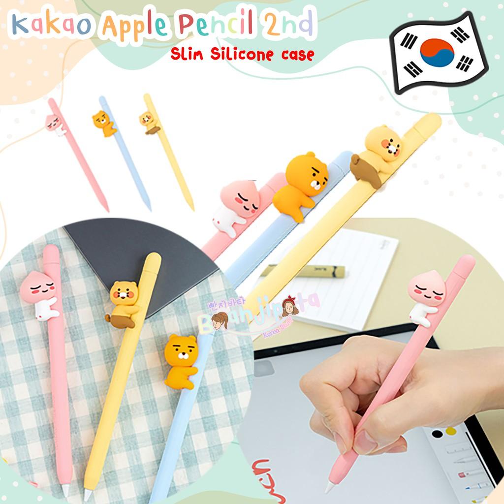★★พร้อมส่ง/ของแท้★★ Kakao Apple Pencil 2nd Slim Silicone case