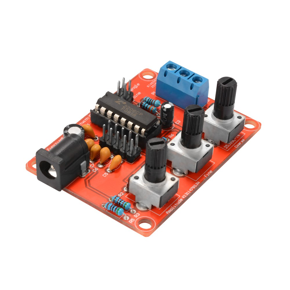 Ad9851 Dds Signal Generator Module 2 Sin Wave 0 70mhz Square Max038 1mhz Shopee Thailand