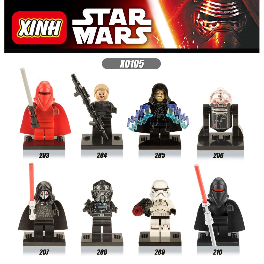 ของเล่นฟิกเกอร์ Star Wars xinh 0105 Building Blocks