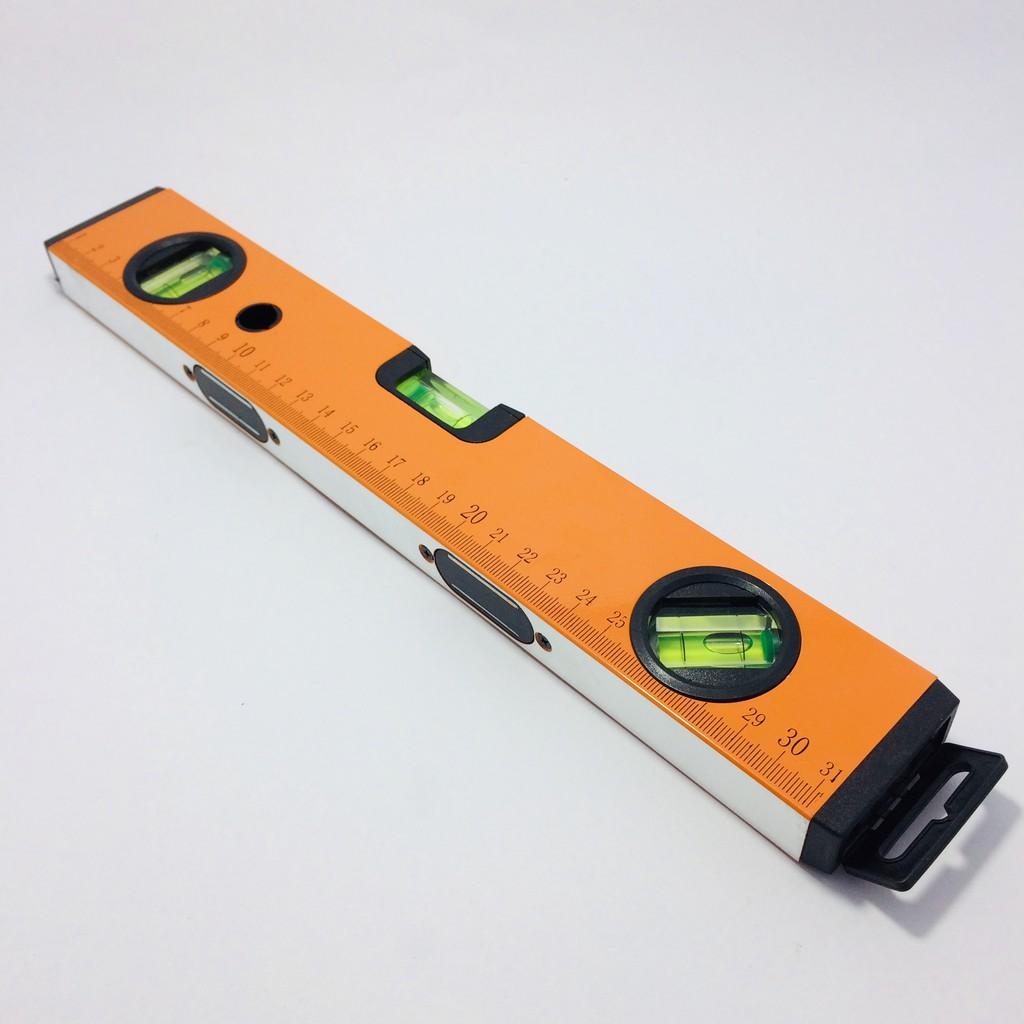 ระดับน้ำแถบแม่เหล็ก META ขนาด 12 นิ้ว ไม้วัดระดับน้ำ ที่วัดระดับน้ำ