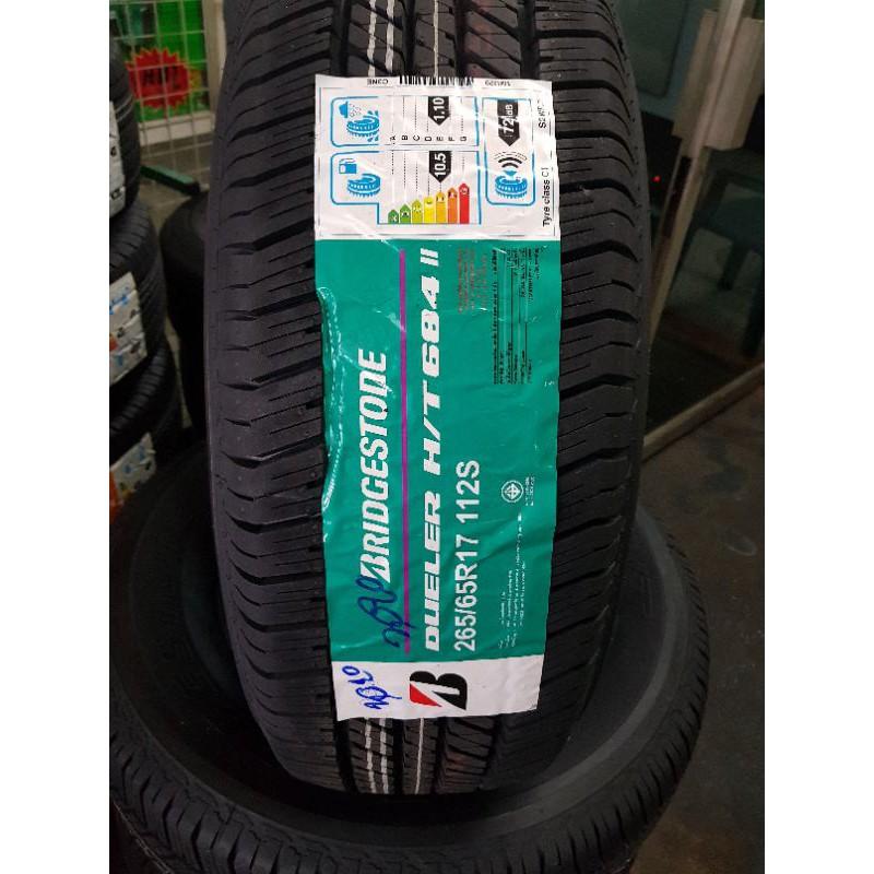ยาง Bridgestone 265/65R17 รุ่น D684 ปี2020