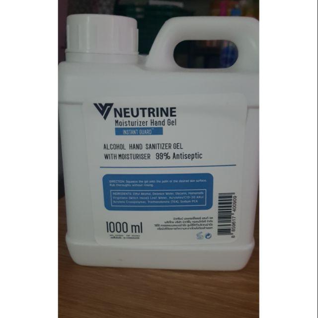 เจลล้างมือ NEUTRINE MOISTURIZER & CLEANSER HAND SPRAY (Re-Fill) 1000 ml (1 ลิตร)