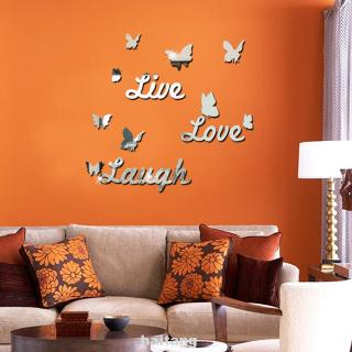 Removable Mini Baby Dolls Wall Sticker LOL Dolls 3D Wall Decal Toys