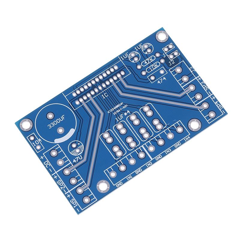 SP Power Amplifiers tda7388 4 Channel 4 x 41w Audio DC 12v BTL PC Car AMP PCB SV
