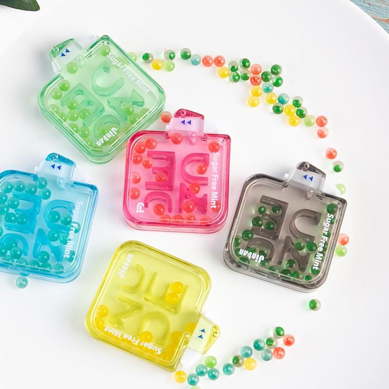Kẹo Ngậm Thơm Miệng Nude Capsule Sugar Free Mint【Chính