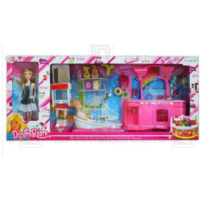 บ้านตุ๊กตาบาร์บี้กล่องใหญ่