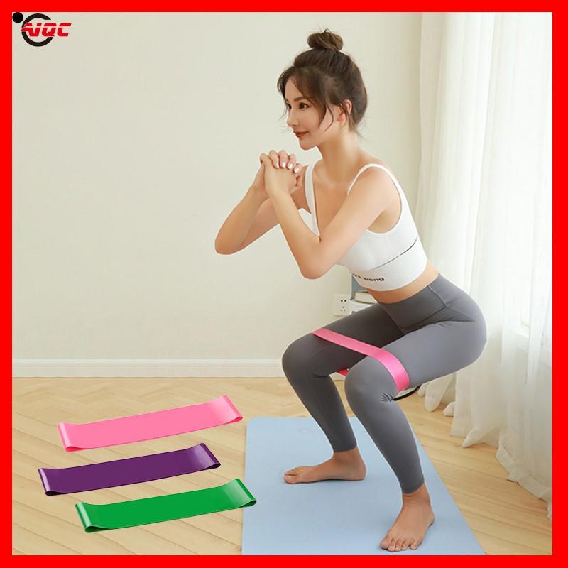 Mall ยางยืดออกกำกาย ยางออกกำลังกาย ยางยืดโยคะ เชือกออกกำลัง ที่ออกกำลังกาย ยางยืดออกกำลัง