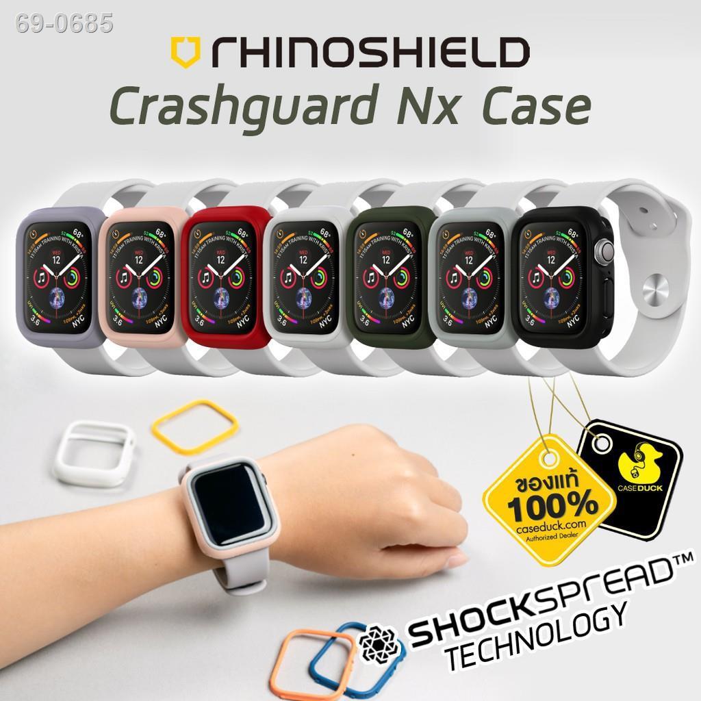 ☍✽เคส Apple Watch Se/6/5/4 Rhinoshield Crashguard Nx Case (40mm/44mm)