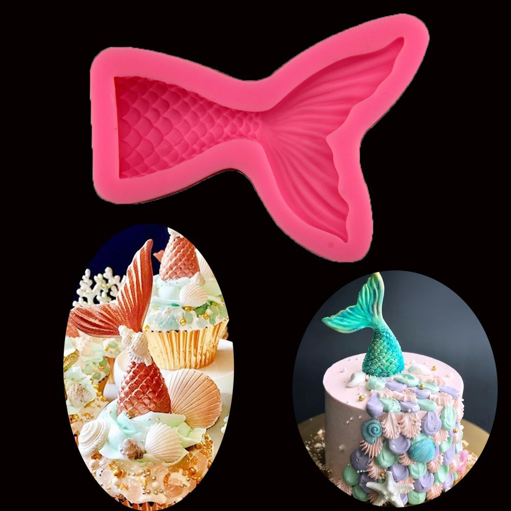 3D Fish Silicone Fondant Mold Cake Decorating Chocolate Sugarcraft Baking Tools