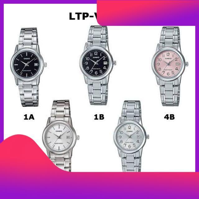 ♥♥♥ casio แท้💯% นาฬิกาข้อมือชาย หญิง สายสแตนเลส