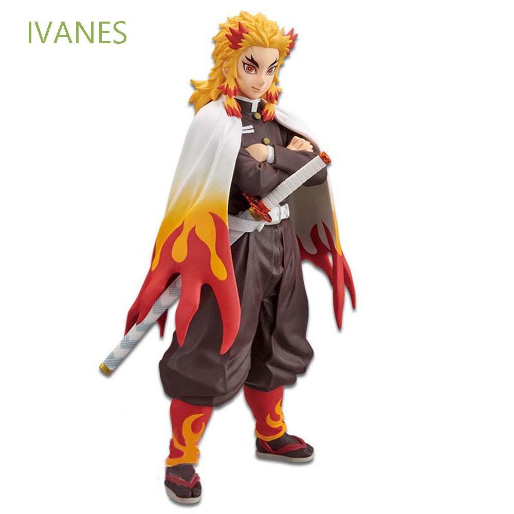 ღღIVANES Collectible Toy Gift Anime Demon Slayer Anime Model Anime Characters Demon Slayer Action Figure Collectible Toy