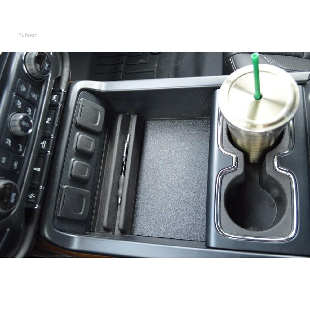 ?Yuhuan?Secret Compartment Console Organizer Cover For 2014-2017 GM Chevy  Silverado