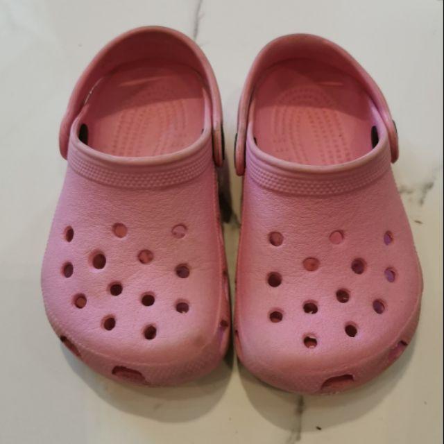 รองเท้าเด็ก Crocs มือสอง ของแท้ สภาพดี ไซส์ c 6/7
