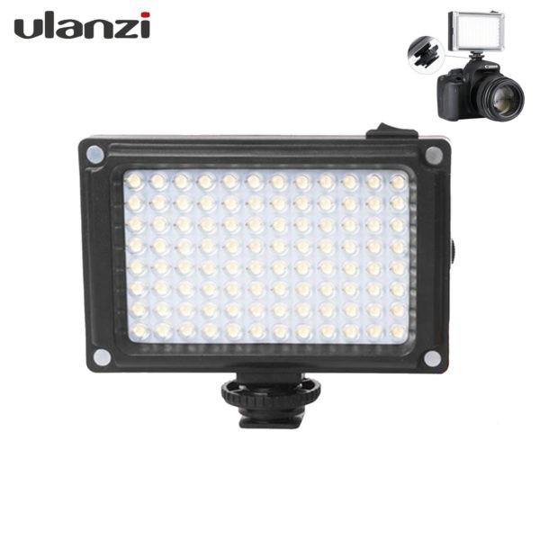 Ulanzi LED FT-96 Video Light ไฟฉายสำหรับติดกล้องวิดิโอ กล้องถ่ายรูป หรือสมาร์ทโฟน