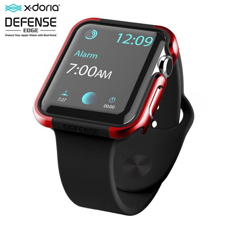 X-Doria Defense Edge เคส Apple Watch 1, 2, 3 (42 mm./38 mm.) Case X-Doria Defense Edge Metal Guard สี Red