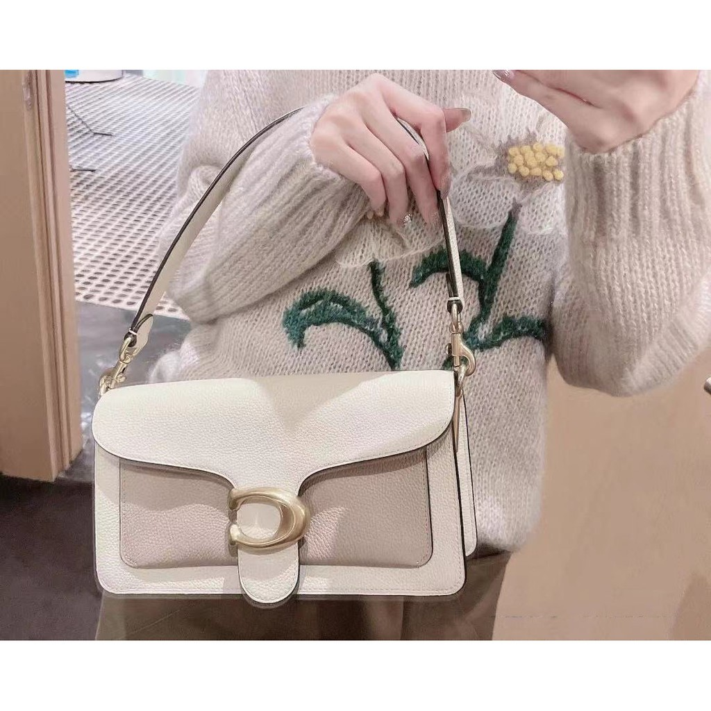 ขายส่งเฉพาะจุด✈[DF] Coach กระเป๋าสะพายสตรีแฟชั่นคลาสสิก / กระเป๋าธุรกิจ กระเป๋าสะพายข้างใบเล็กน่ารัก กระเป๋าเดินทางหัวเข