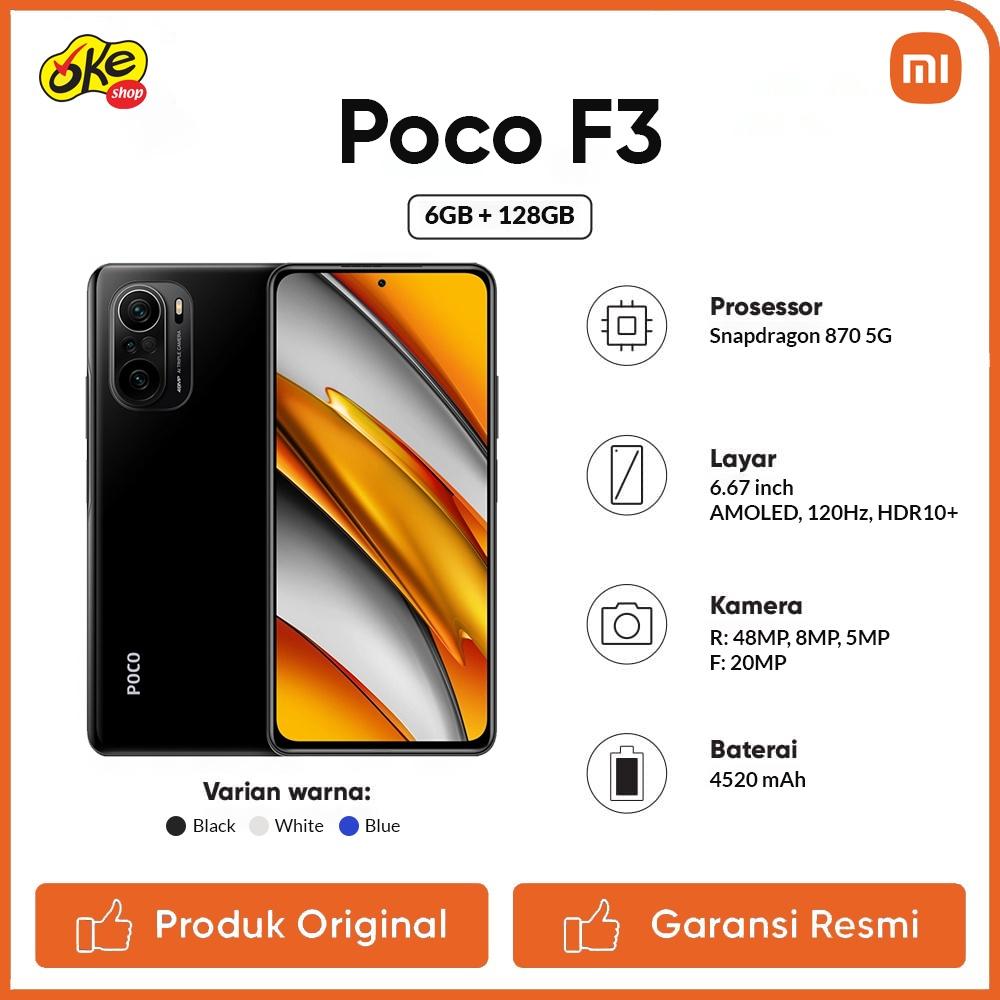 Xiaomi Poco F3 Smartphone (6GB /1