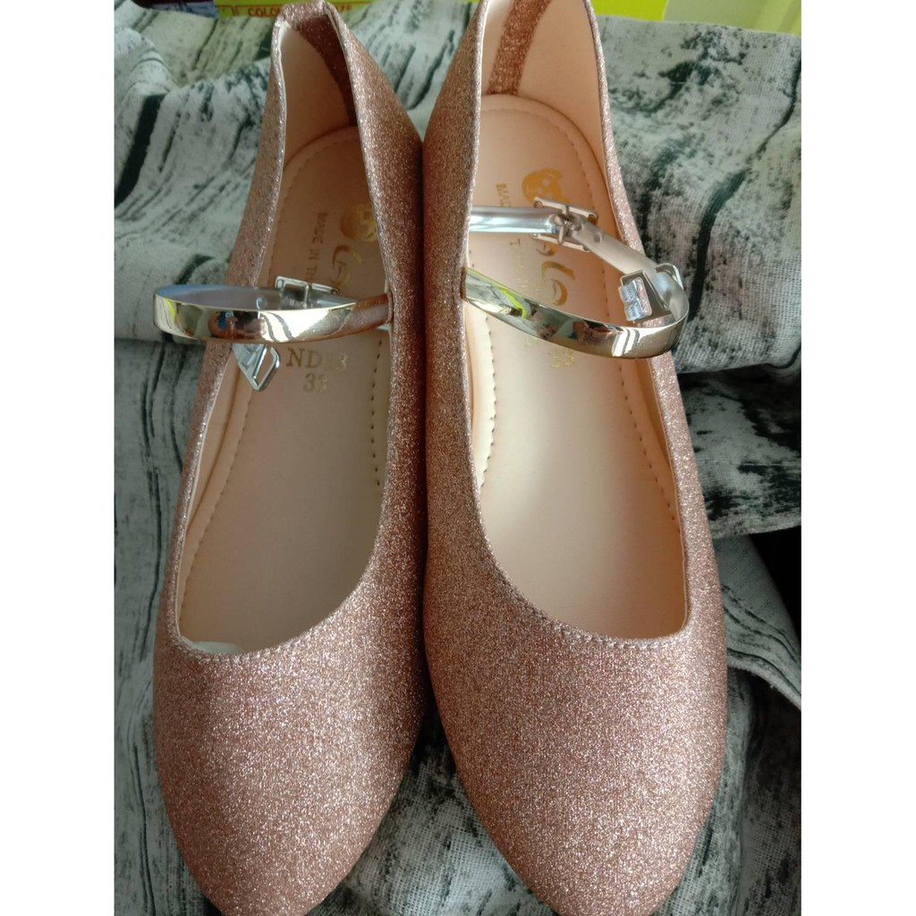 SALE!! รองเท้าคัชชู ร้องเท้าส้นสูง เด็กผู้หญิง ออกงาน หรูหรา เบอร์31 32 33 35 36 (1คู่)รองเท้า เด็ก ผู้หญิง