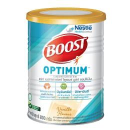 Nestle Nutren Boost Optimum อาหารเสริม นิวเทรน ออปติมัม 400 / 800 กรัม