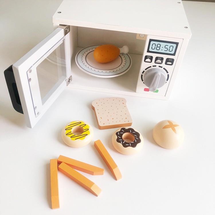 พร้อมส่ง ชุดเครื่องปิ้งขนมปังสีขาว ของเล่นเด็ก ชุดเครื่องทำกาแฟสีขาว ชุดเครื่องตีแป้งสีขาว เครื่องทำวาฟเฟิลสีขาว Jf4E