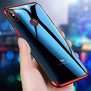 Review Xiaomi Mi9  Mi8 MIX3 MAX3  F1 REDmi6  Note7 Note6 Plating Clear Soft TPU Case