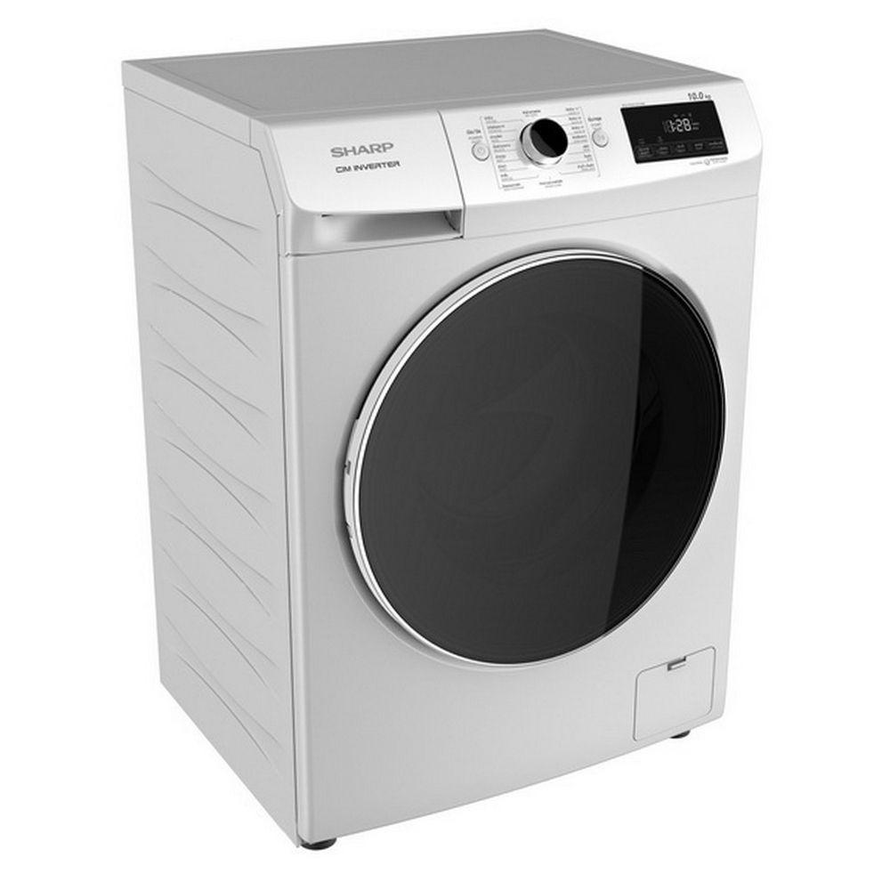 Washing machine FL WM SHA ES-FWX1014W 10KG 1200 INV Washing machine Electrical appliances เครื่องซักผ้า เครื่องซักผ้าฝาห