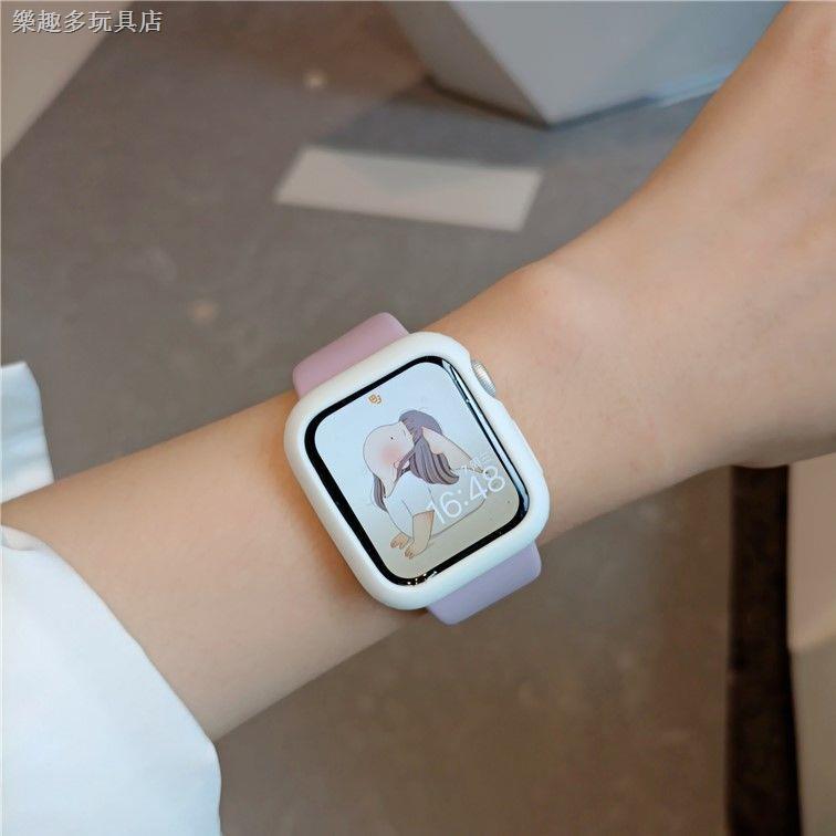 เคสซิลิโคนสําหรับ Applewatch Se Iwatch 6 / 5 / 4 / 3