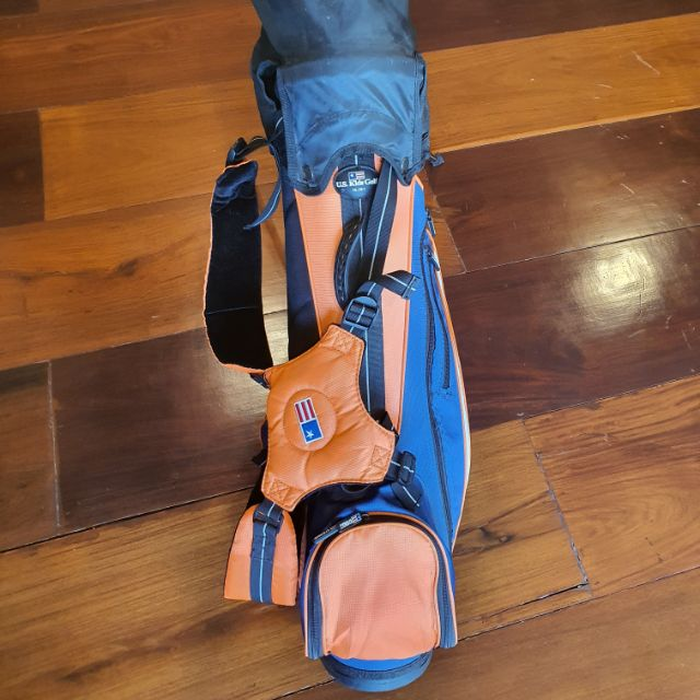 """ขายไม้กอล์ฟUS Kids ชุดสีส้ม รุ่นUltralight51"""" มือสอง เหมาะสำหรับเด็กความสูง120-135cm."""