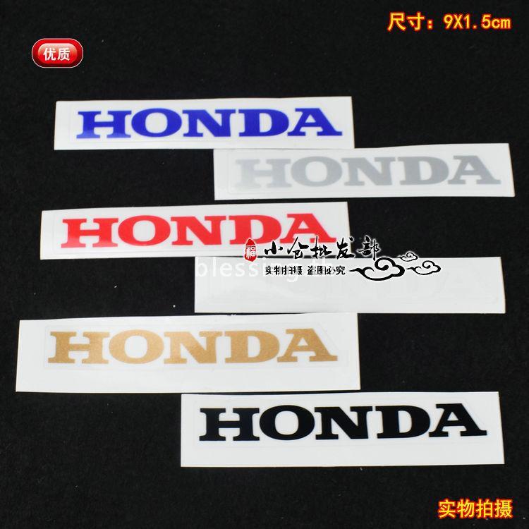 สติกเกอร์ติดหน้ารถจักรยานยนต์ Honda dio ZX 28 / 34 / 35 / 61