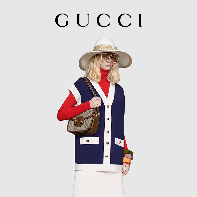 ゲゑ กระเป๋าเป้สะพายหลัง★★★❤🔥🔥กระเป๋ากระเป๋าเดินทาง  Gucci Gucci ม้าหัวเข็มขัด1955ซีรีส์กระเป๋าสะพายกระเป๋าหญิง