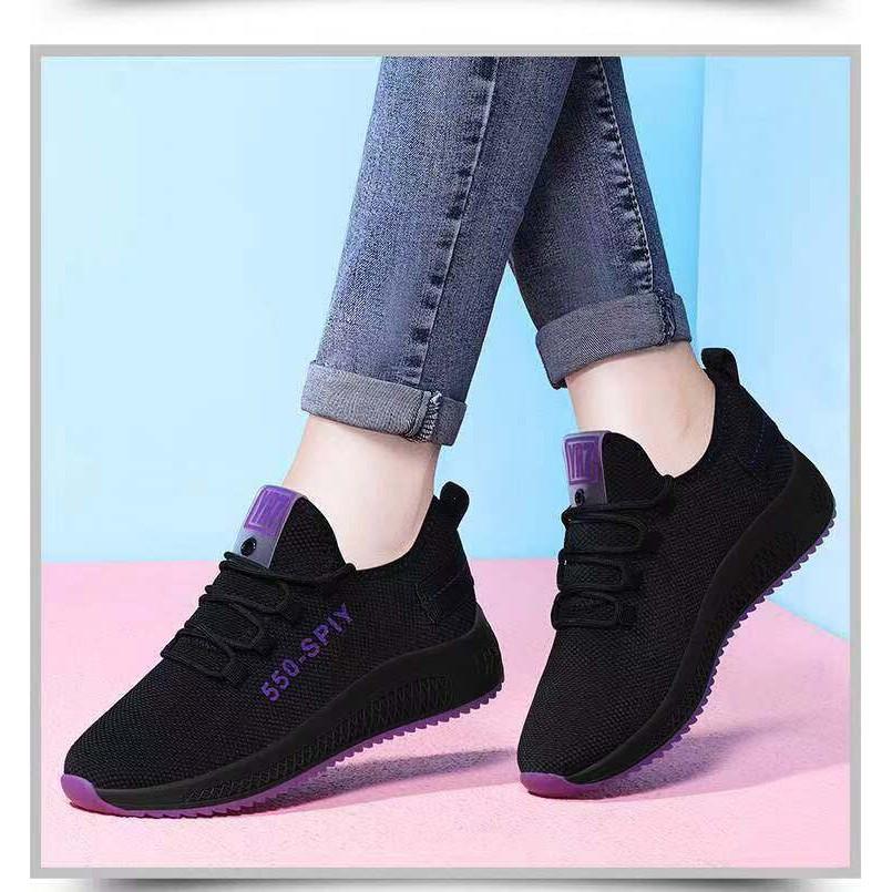 ⚡พร้อมส่ง⚡ รองเท้า รองเท้าผ้าใบ แฟชั่น รองเท้าผู้หญิง รุ่น-550