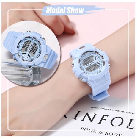 นาฬิกาข้อมือดิจิตอล กันน้ำ แฟชั่นสำหรับผู้หญิง และผู้ชาย