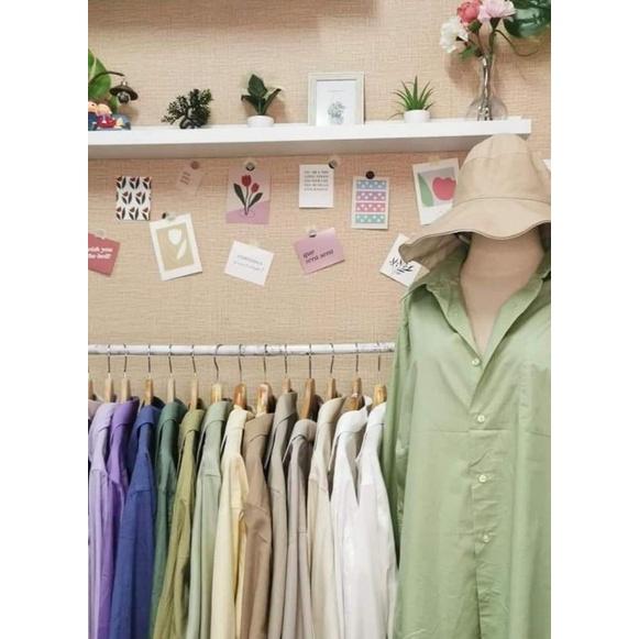 เสื้อเชิ้ตยกกระสอบแบ่งขายราคาถูก มือ1-2