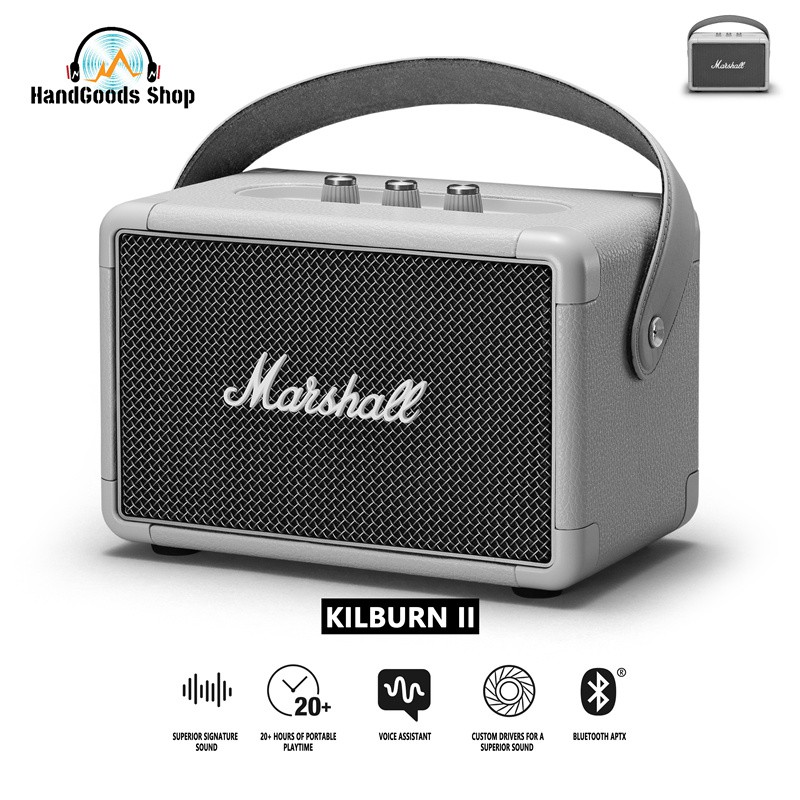 ❉♤☍100% original Ready Stock Marshall Kilburn II Bluetooth Speaker(1 year warranty)