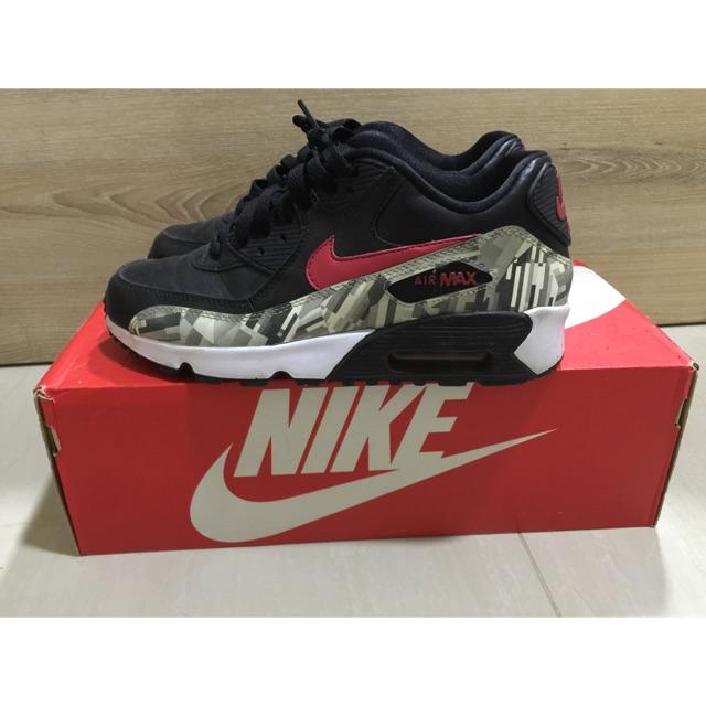 Nike Airmax 90 Print LTR ไซส์ 38 ของแท้ ยกกล่อง
