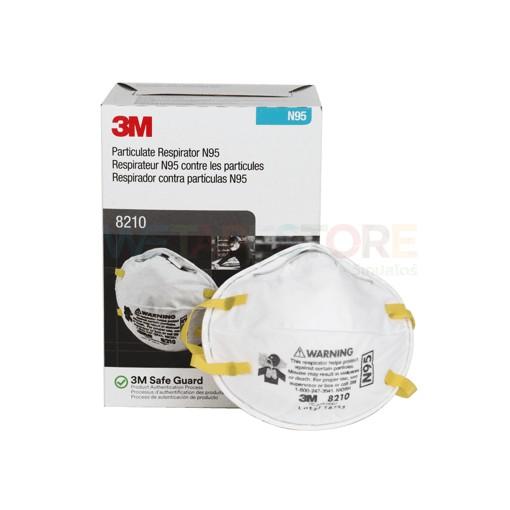 หน้ากากกันฝุ่นละออง PM2.5 (20ชิ้น/กล่อง) 3M 8210 N95