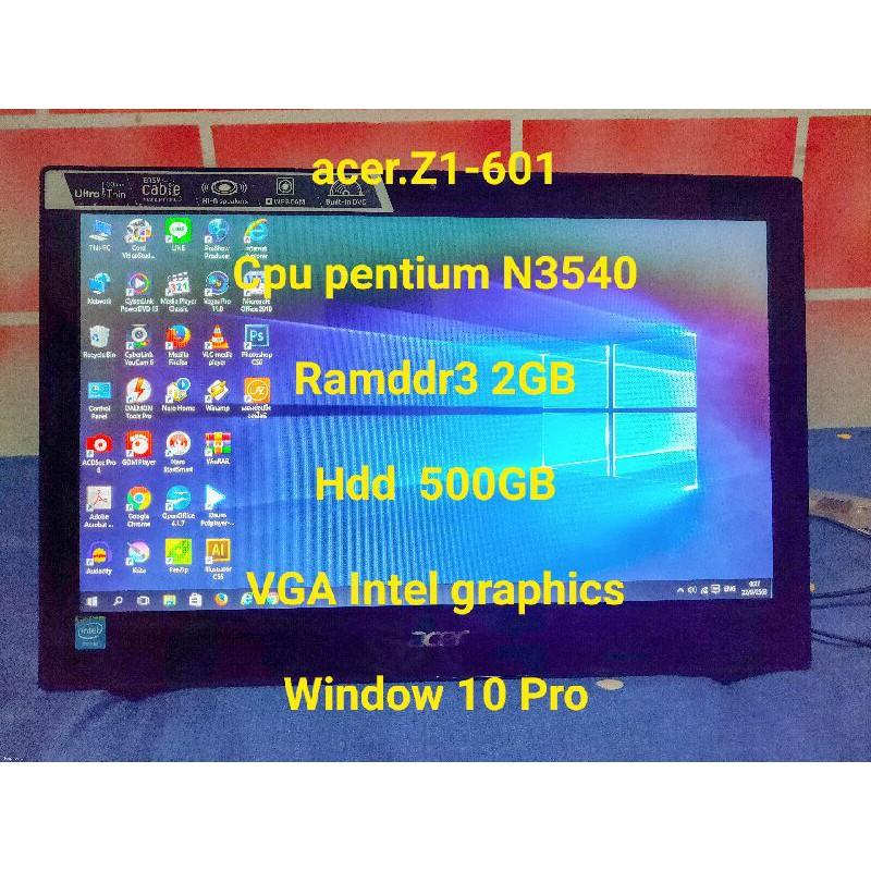 คอมพิวเตอร์ All in one Acer aspire Z1