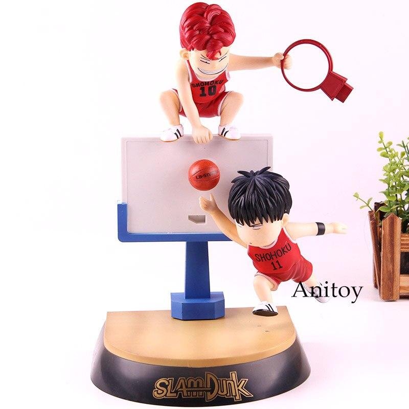 Slam Dunk Hanamichi Sakuragi /& Rukawa Kaede Action Figure