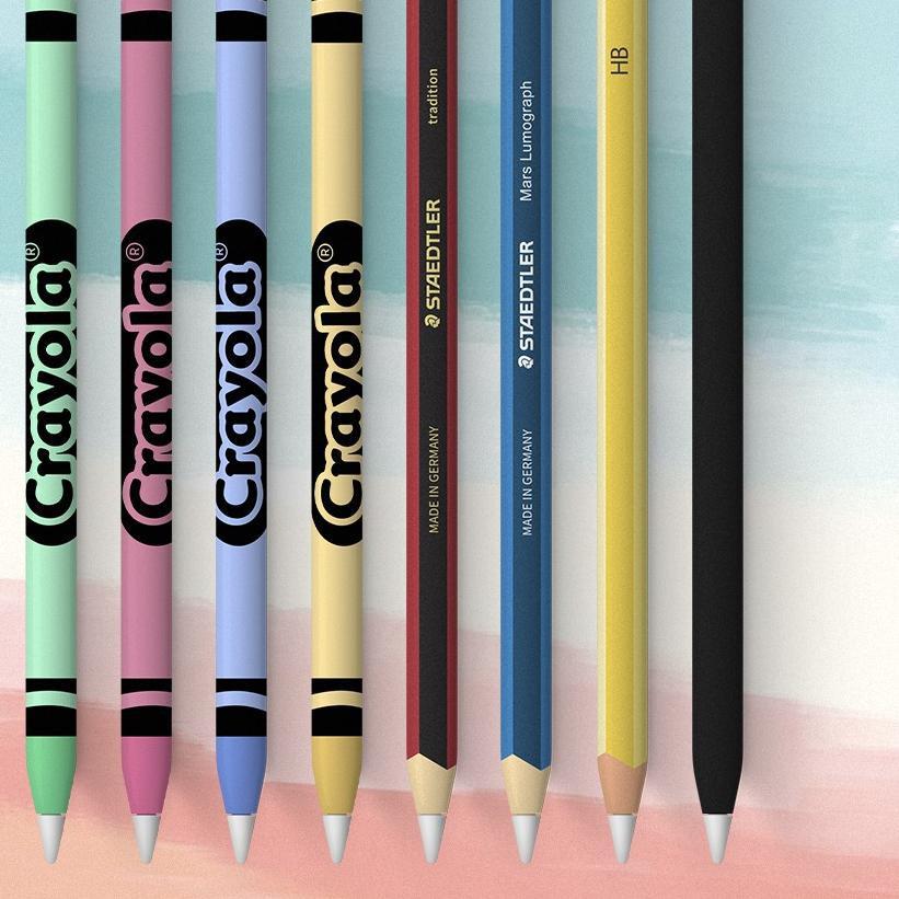 Sticker Skin Protector Apple Pencil Gen 1 And 2 - Like Slickwrap Dbrand F13o