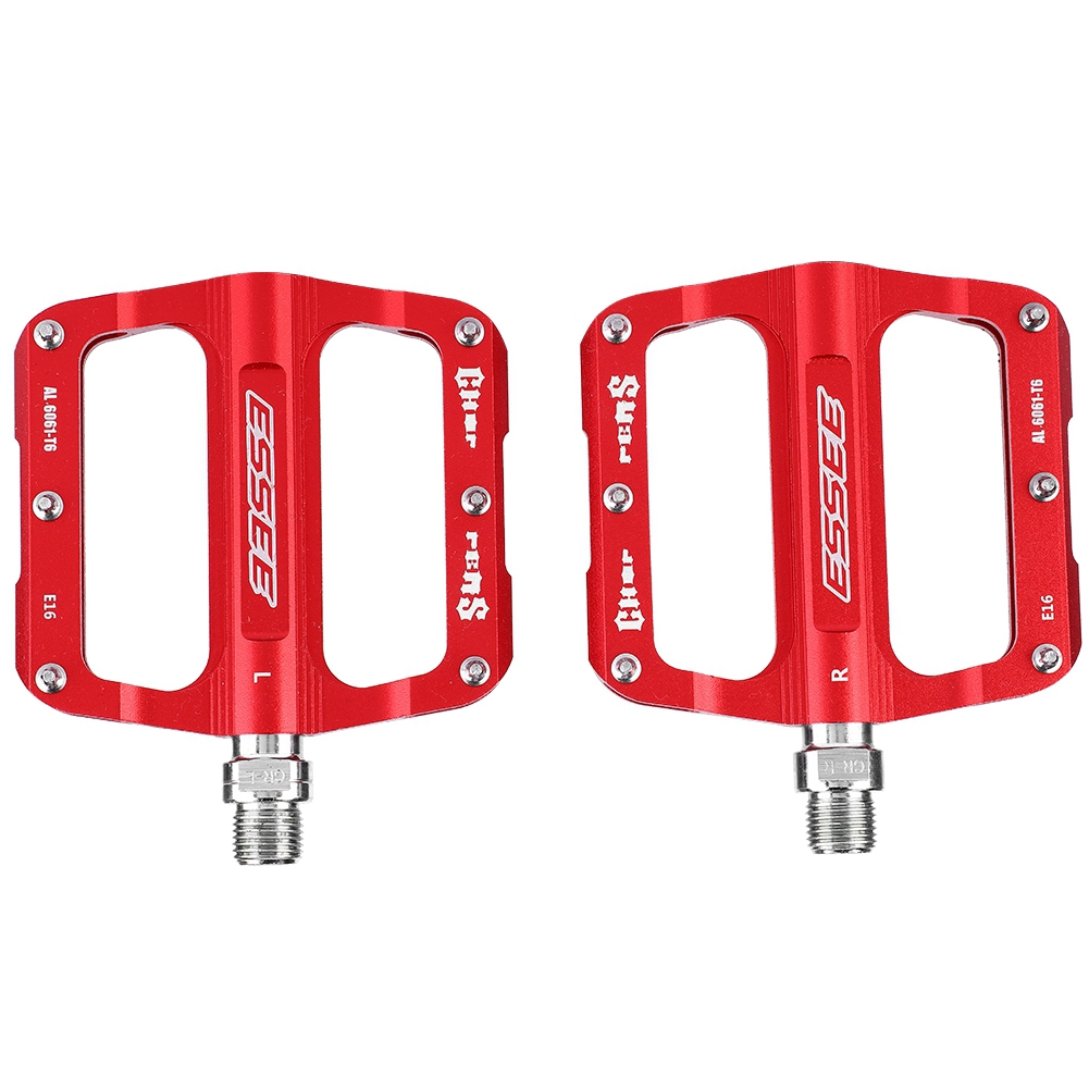 3 Colors Lightweight Axle Aluminum Alloy Pedals for Mountain Bike Road Bicycle Replacement Bike Pedal