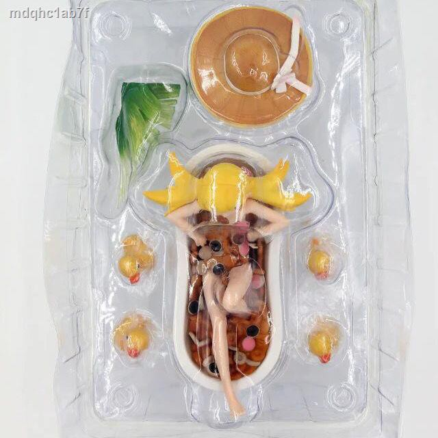 ราคาต่ำสุด✈Aniplex Bakery Story Series Pseudo Oshino Shinobu Donut Bathtub Boxed Figure