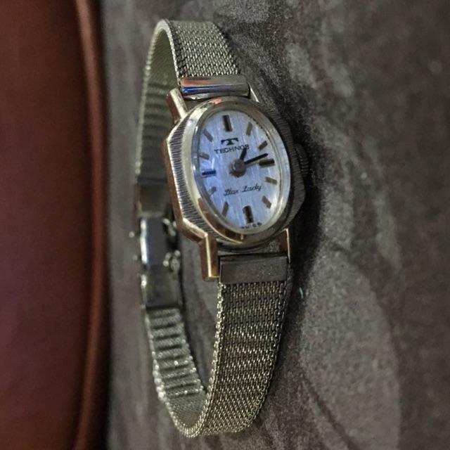 นาฬิกาไขลาน Technos แท้ 💯 สภาพมือ 1 ❤️