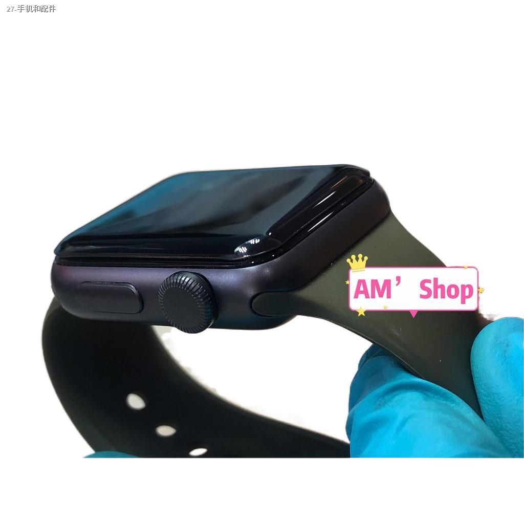 ▨✌ฟิล์มกระจก AppleWatch กาวเต็มลงโค้ง Series 1 2 3 4 5 6 SE