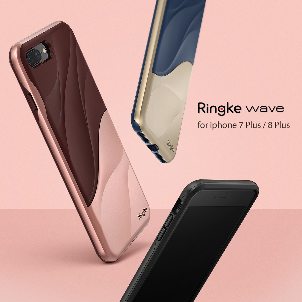 Iphone 7 Plus 8 Rearth Ringke Air Prism Shopee For Ink Black Thailand
