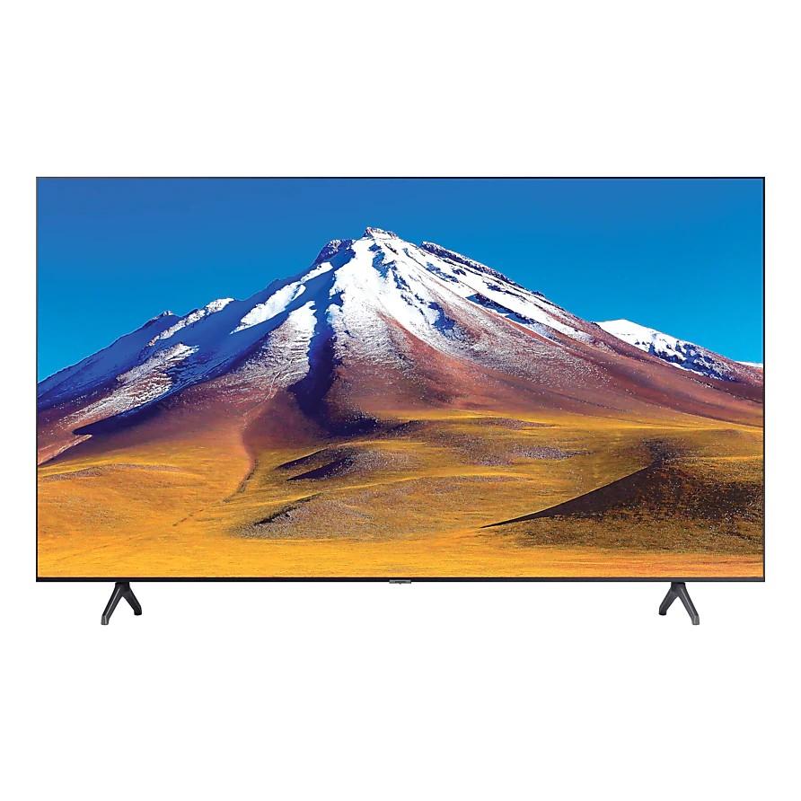 """SAMSUNG UHD 4K SMART TV 65"""" UA65TU6900 รับประกันราคาถูก ตจว.เลือกขนส่งในระบบได้เลยครับ UA65TU6900KXXT ผ่อน0%บัตรเครดิต"""