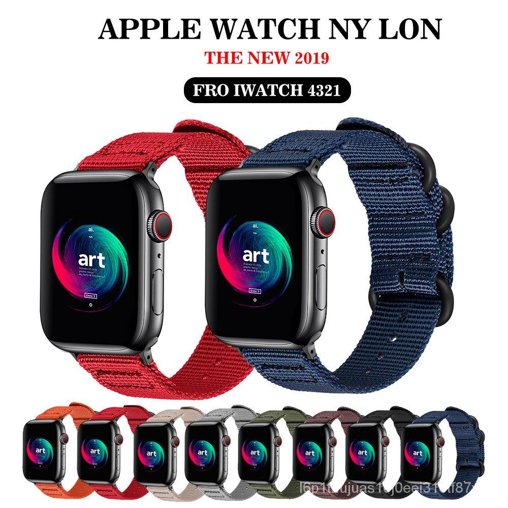 Band for Apple Watch 5 4/3/2/1 Sport Nylon Bracelet 38MM 40MM 42MM 44MM  Strap For Iwatch bands iwatch Series  5 4 3 2 1