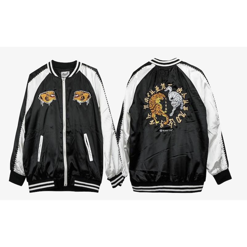 เสื้อแจคเกต งานปัก แนวSUKAJAN GM-JACKET-05