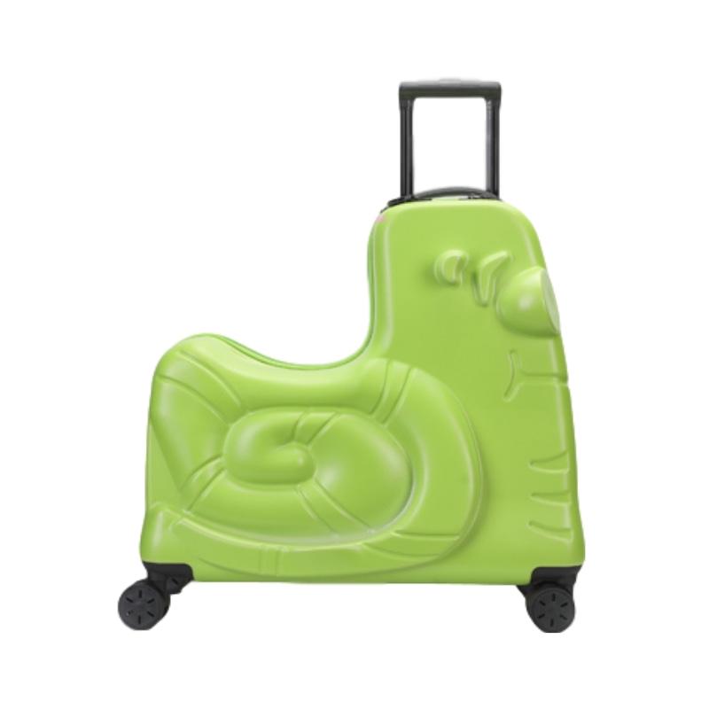 ヴЁ กระเป๋าเดินทางล้อลาก กระเป๋าเดินทางล้อลากใบเล็กกระเป๋าเด็ก24นิ้วการ์ตูนขี่กล่องเด็กสามารถนั่งสามารถนั่งล้อสากลทารกสุท